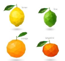 柠檬橘子水果设计图片