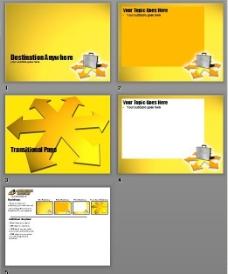 黄色商务PPT