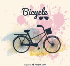 矢量单车图片