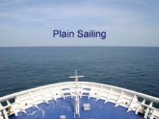 一帆风顺的PPT模板