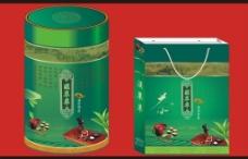 茶叶手提袋 茶叶桶图片