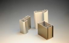 80厚铝合金门型材外图片