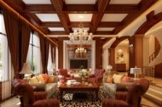 现代欧式客厅图片