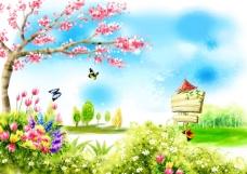 春姿婀娜风景