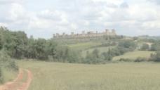 托斯卡纳monteriggiano蝴蝶15股票的录像 视频免费下载