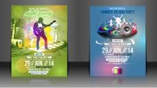 音乐宣传海报背景设计