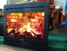 汽化壁炉蒸汽火焰图片