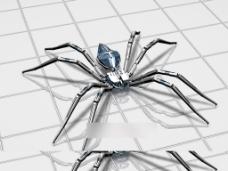 钢铁蜘蛛3D模型