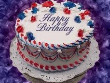 生日蛋糕ppt模板