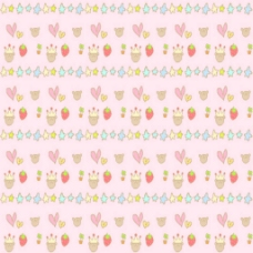 可爱蛋糕背景粉色