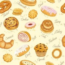 饼干矢量素材