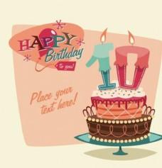 生日蛋糕生日派对