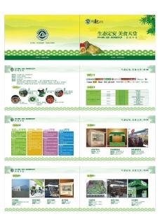 美食文化节招商手册图片
