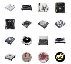 超酷DJ装备图标