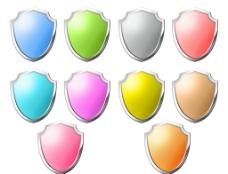 十色盾标志图片