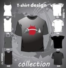T恤设计 T恤图案 服装图片