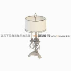 3D台灯模型