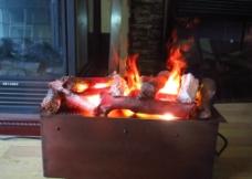 干蒸电壁炉3D火焰图片