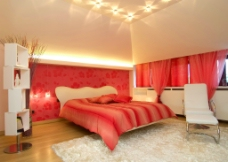 温暖卧室效果图片