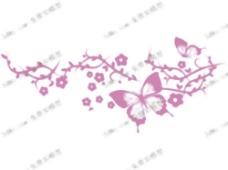 蝴蝶壁画,墙纸,墙纸,装饰,H