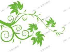绿色多叶的树枝,墙纸,墙纸,装饰,家居