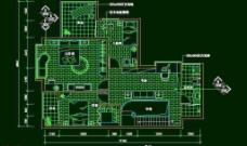 CAD之复式住宅