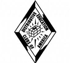Distributive_Education_Clubs_Of_America logo设计欣赏 Distributive_Education_Clubs_Of_America教育机构标志下载标志设计