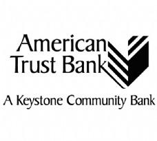 AmericanTrustBank logo设计欣赏 AmericanTrustBank国际银行标志下载标志设计欣赏