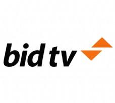 BidTV logo设计欣赏 BidTV电视台LOGO下载标志设计欣赏