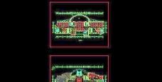 五星级酒店一二层平面方案图